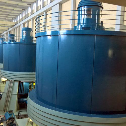 Turbinen Wasserkraft